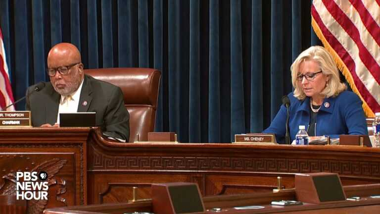 WATCH: 'We are obligated to rise above politics,' Rep. Cheney tells Jan. 6 committee