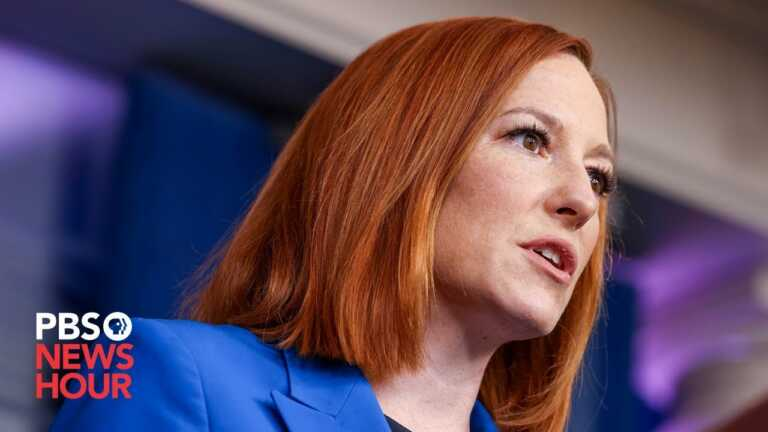 WATCH LIVE: Psaki holds White House briefing after Biden consoles Florida building collapse families