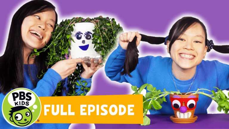 Mega Wow | Giving Plants A New Hairstyle! | PBS KIDS