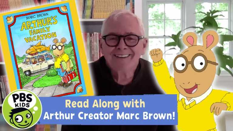 Arthur's Family Vacation   READ ALONG   PBS KIDS