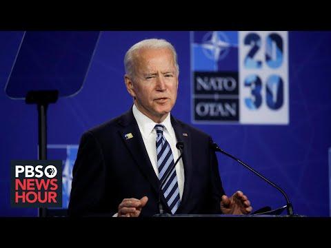 Biden underscores US commitment to NATO in sharp contrast to Trump