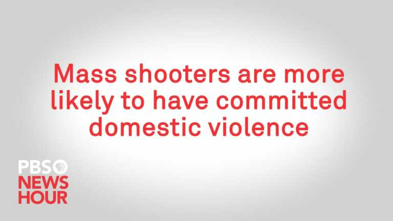 WATCH: Mass shooters are more likely to have committed domestic violence