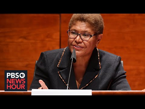 Rep. Bass on holding police accountable through the George Floyd Justice in Policing Act