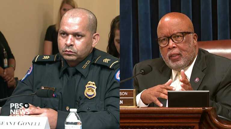 WATCH: Rep. Bennie Thompson questions witnesses in House investigation of Jan. 6