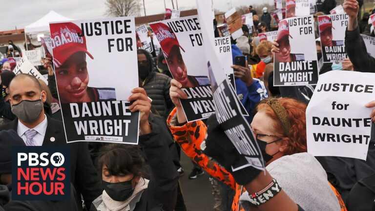 Minnesota on edge following the police killing of Daunte Wright