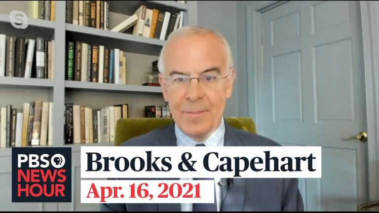 Brooks and Capehart on police shootings, the U.S. withdrawal from Afghanistan