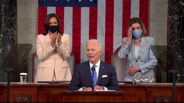 WATCH: Biden calls on Congress to address gun violence 'epidemic' | 2021 Biden address to Congress
