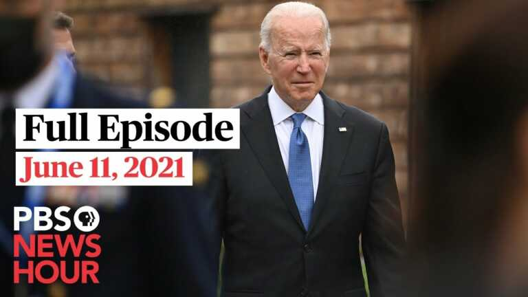 PBS NewsHour West live episode, June 11, 2021