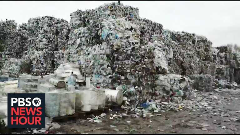 Recycling plastic has been an uphill challenge. Could chemical recycling change that?