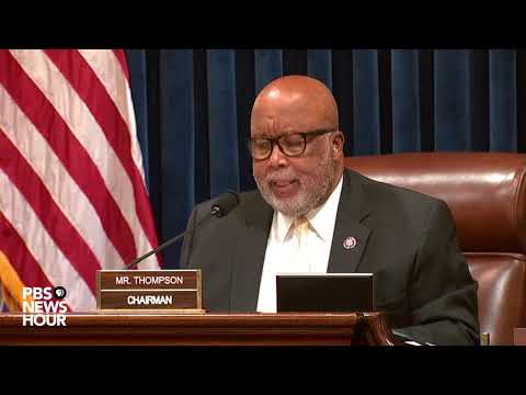 WATCH: Rep. Bennie Thompson's full opening statement in House investigation of Jan. 6