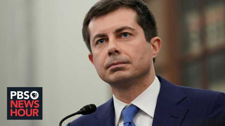 Buttigieg says new infrastructure plan 'looking to the future,' helps long-term job growth