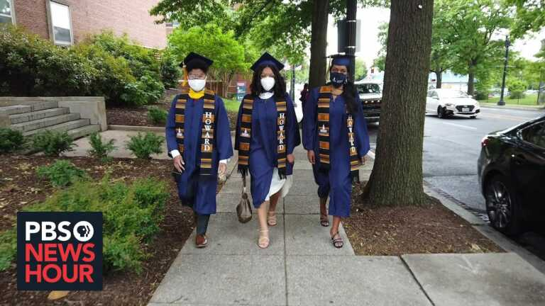 Pandemic graduates on their hopes to mend the 'cracks' exposed by the last year