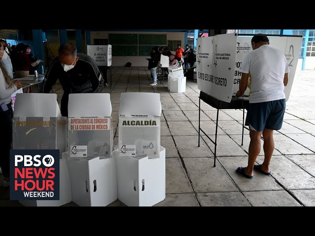 Millions of Mexicans vote in a violence-marred midterm election