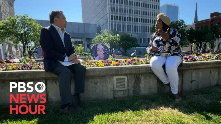 WATCH: Why Louisville's 'Mother of Injustice Square Park' says the city is not close to healing