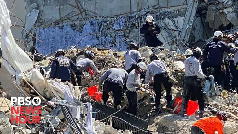 WATCH LIVE: Officials give update on Miami building collapse
