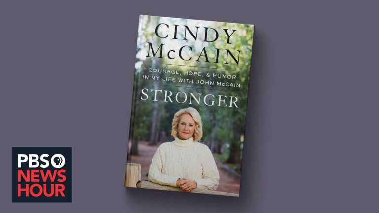 Cindy McCain on what marrying a politician taught her about life