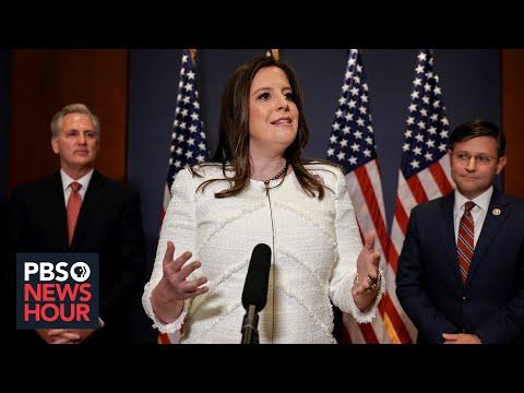 News Wrap: House GOP votes Elise Stefanik into leadership post stripped from Liz Cheney