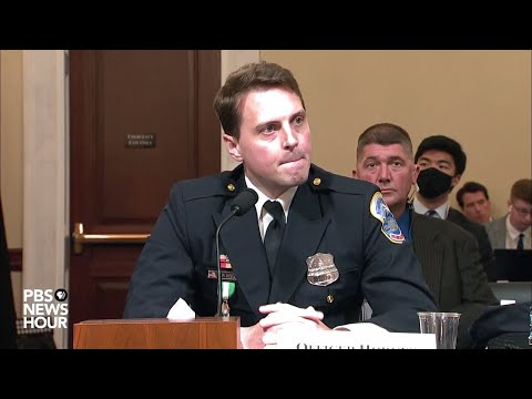 WATCH: D.C. officer Hodges says he was 'fighting for democracy' when responding to Jan. 6 attack