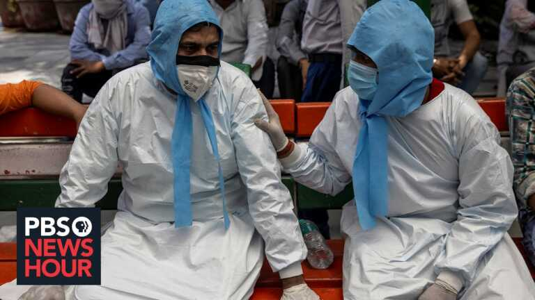 Indians suffer, die in the streets as overcrowded hospitals turn patients awa