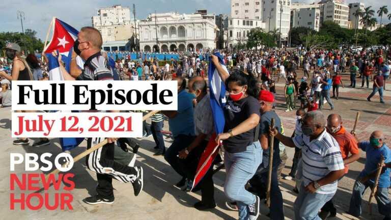 PBS NewsHour live episode, July 12, 2021