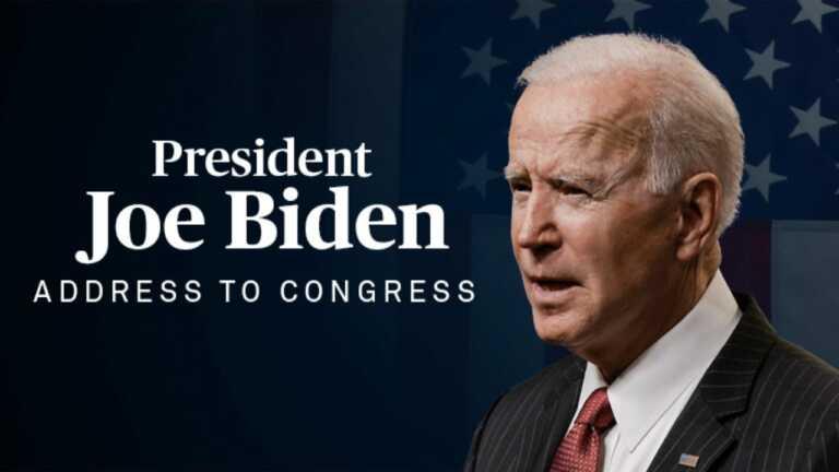 WATCH LIVE: President Joe Biden's address to a joint session of Congress