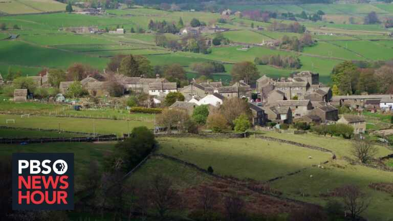 A conflict journalist on the unique challenges of reporting on COVID in Holmfirth, England