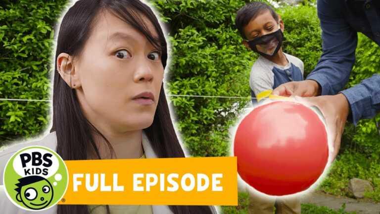 Mega Wow | Telling Jokes with Balloon Rockets! | PBS KIDS
