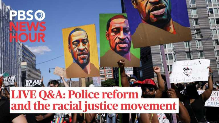 LIVE Q&A: Police reform and the racial justice movement, 1 year after George Floyd's killing