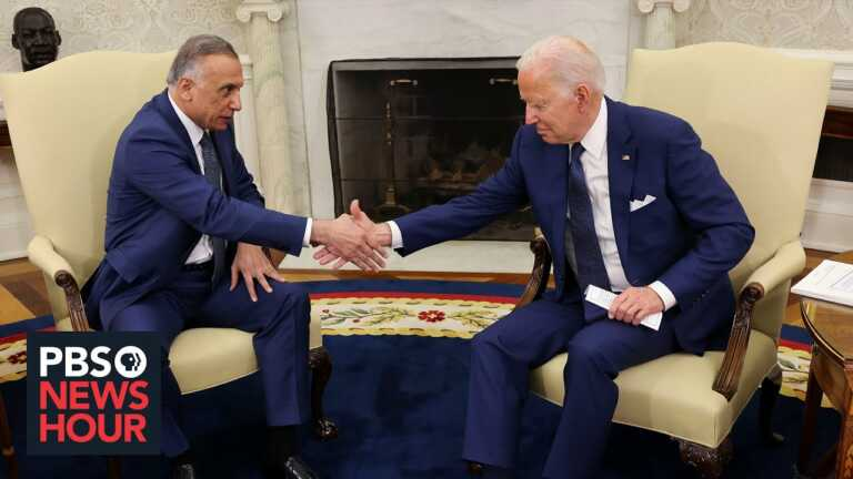 News Wrap: Biden to pull U.S. combat forces from Iraq by end of year