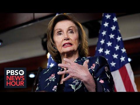 News Wrap: Pelosi calls McCarthy a 'moron' as House leaders trade barbs over mask rules