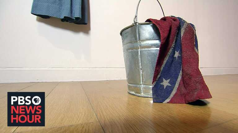 Sonya Clark on the Confederate truce flag and creating a collective work of healing