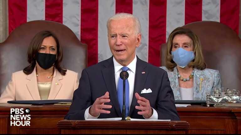 WATCH: Biden: Wealthy should pay 'fair share' for economic plan | 2021 Biden address to Congress