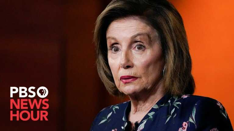 WATCH LIVE: Speaker Pelosi gives weekly news briefing