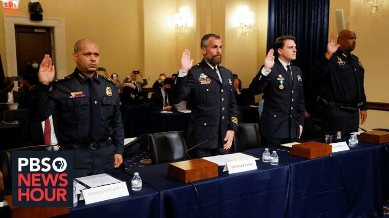 Electrocuted, beaten, abused: Capitol Police recall their own 'vulnerability' on Jan. 6