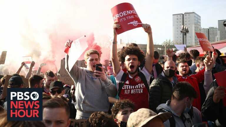 Super fail: Plans to create an European 'Super League' in soccer backfire on team owners