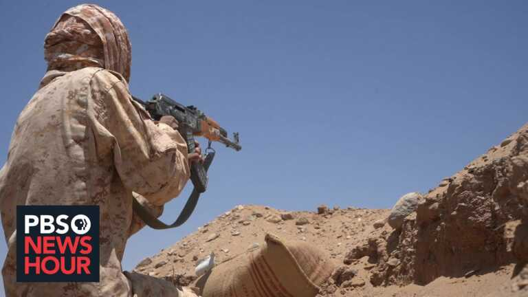 On the ground with Yemeni soldiers battling Iran-allied rebels