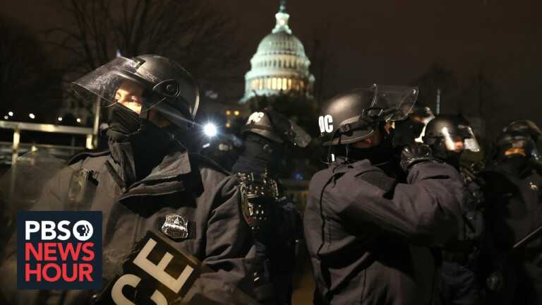 Congressional report details security failures during U.S. Capitol attack