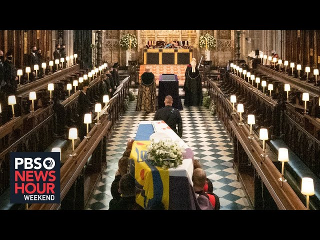 Prince Philip is laid to rest after small funeral amid COVID-19 restrictions