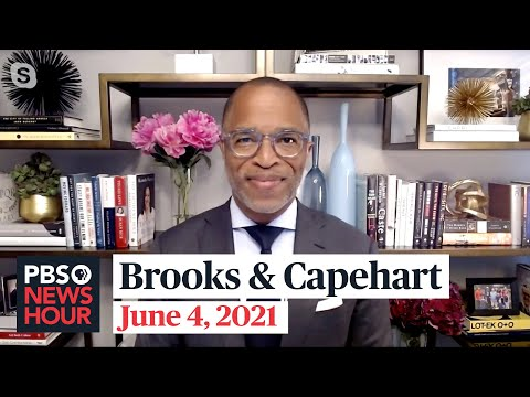 Brooks and Capehart on infrastructure talks, VP Harris's role and Trump's influence