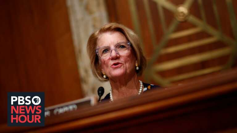 GOP Sen. Capito on funding infrastructure, raising debt ceiling and increasing taxes