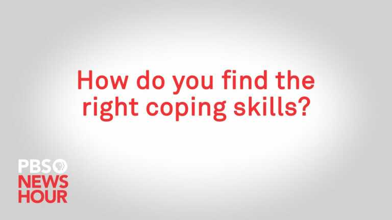 How do you find the right coping skills?