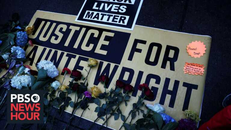 News Wrap: Kim Potter charged with second-degree manslaughter after shooting Daunte Wright