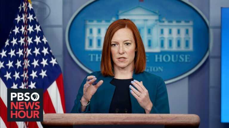 WATCH LIVE: White House Press Secretary Psaki gives briefing
