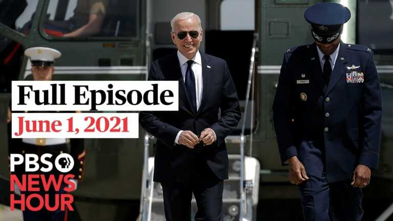 PBS NewsHour West live episode, June 1, 2021