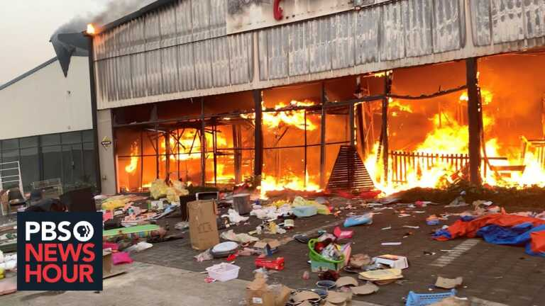 Chaos in South Africa after riots, looting follow Zuma's jailing