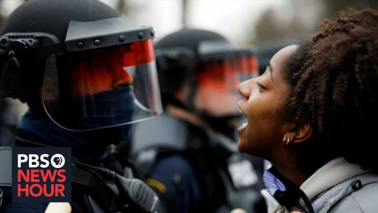 Minnesota enforces curfew, deploys National Guard after new police shooting sparks protest
