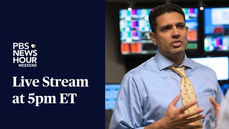 PBS NewsHour Weekend Live Show: August 29, 2021