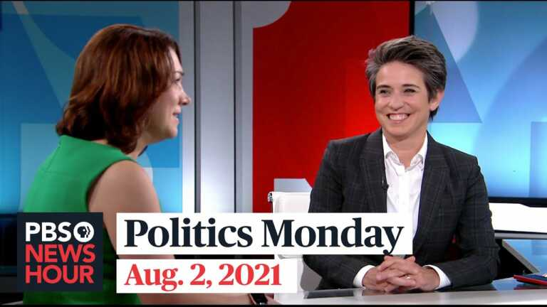 Tamara Keith and Amy Walter on infrastructure negotiations, Trump's fundraising success