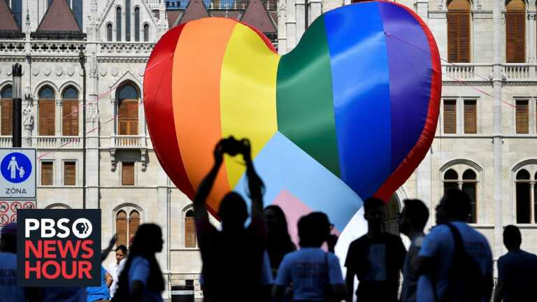 Hungary's crackdown on its LGBTQ community prompts condemnation from European leaders