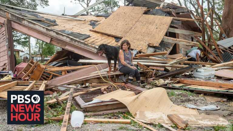 'It looks like a war zone' : Hurricane Ida floods Louisiana's Plaquemines Parish
